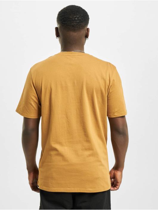 Timberland T-Shirty Yc Stack Logo bezowy