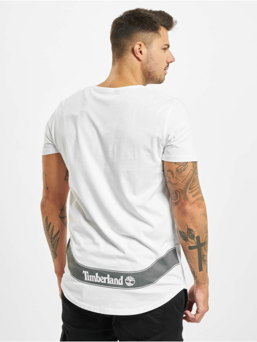 Timberland T-Shirty Ss Reflective Multig bialy