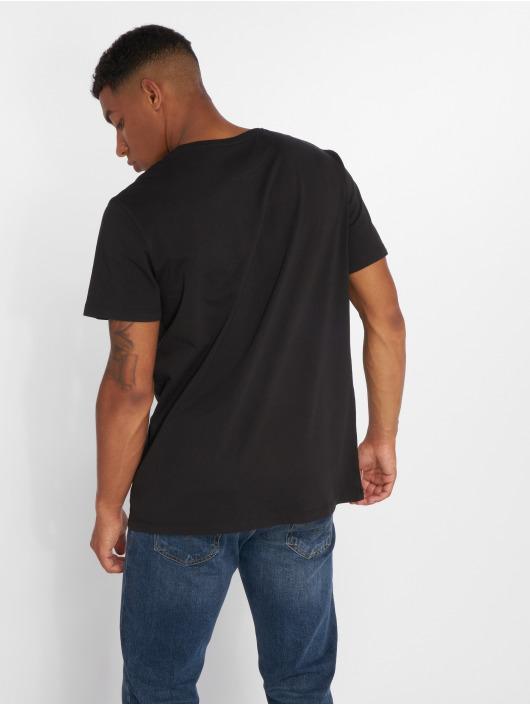 Timberland T-Shirty Brand Tree Regular czarny