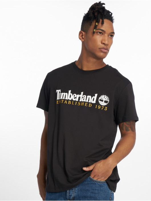 Timberland T-Shirty Ycc Elements czarny