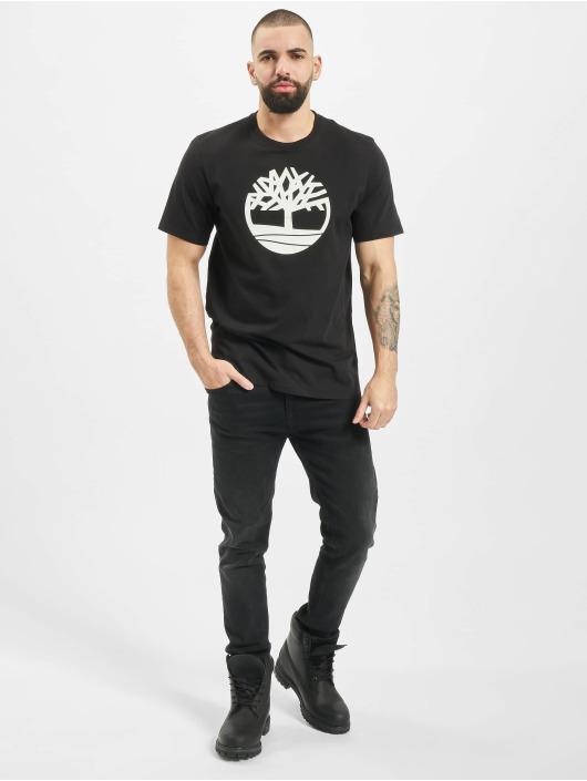 Timberland T-Shirty K-R Brand Tree L4L czarny