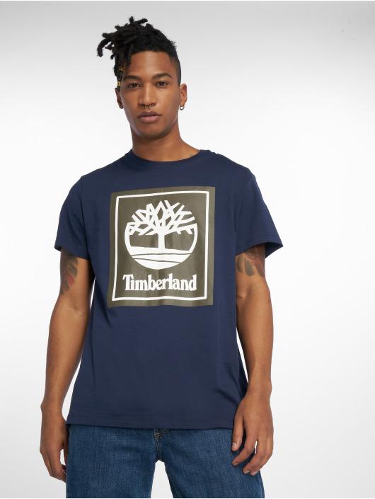 Timberland T-Shirty Ycc Logo niebieski