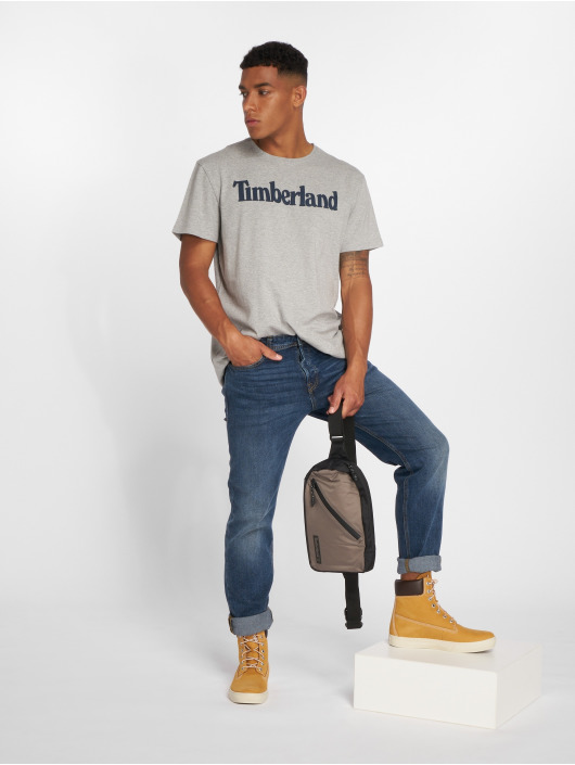 Timberland T-Shirty Kennebec River Brand Regular szary