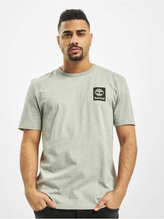 Timberland T-Shirty SS Back Logo Camo szary