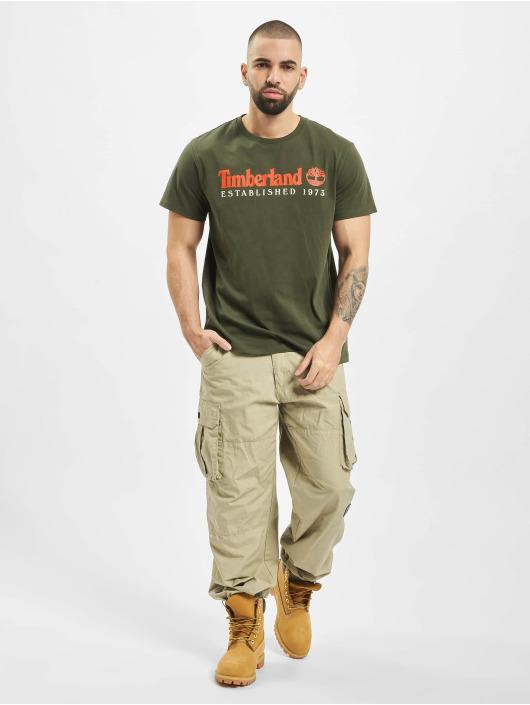 Timberland T-Shirty Core Established zielony