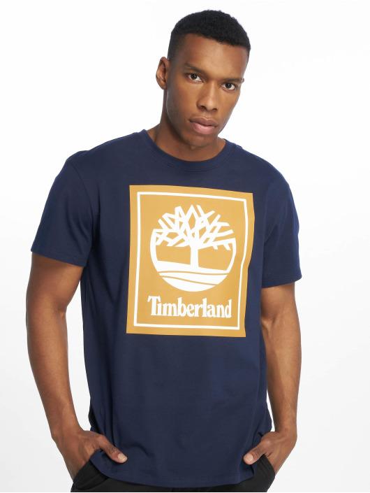 Timberland T-skjorter YCC Stack Logo ECL blå