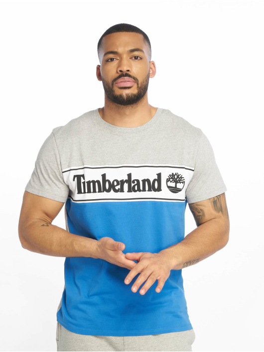 Timberland T-skjorter YCC Cut & Sew grå