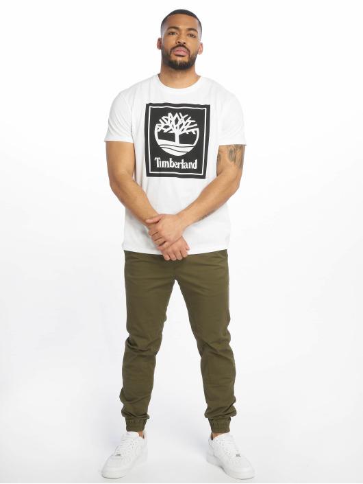 Timberland T-skjorter YCC Stack Logo ECL hvit