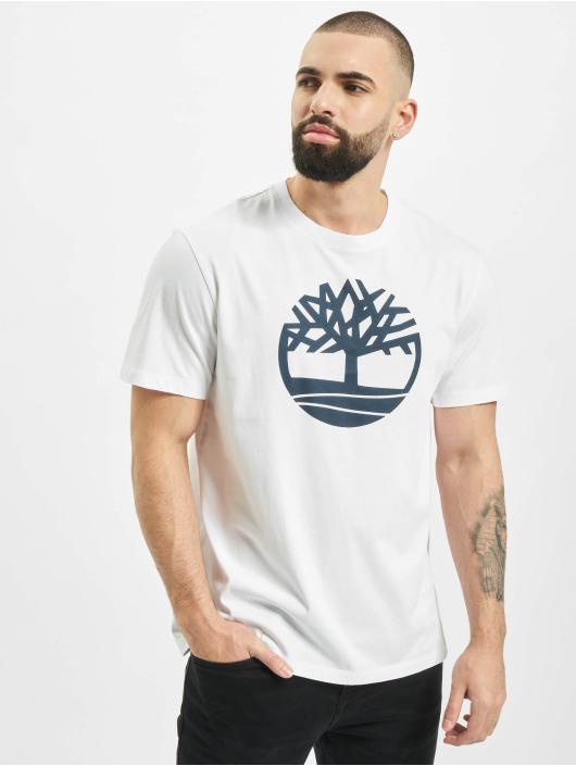 Timberland T-skjorter K-R Brand Tree L4L hvit
