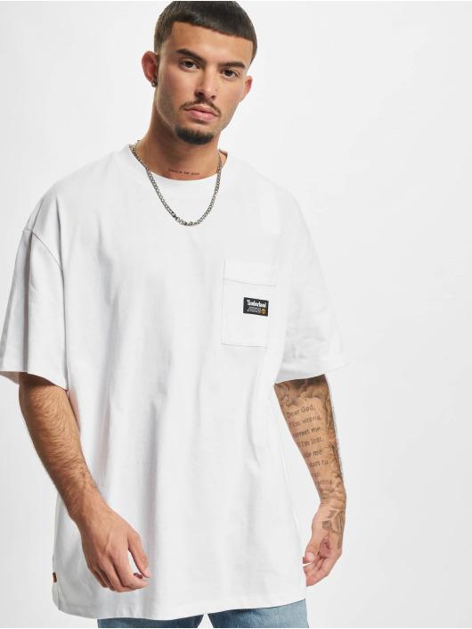 Timberland T-skjorter YC Graphic hvit