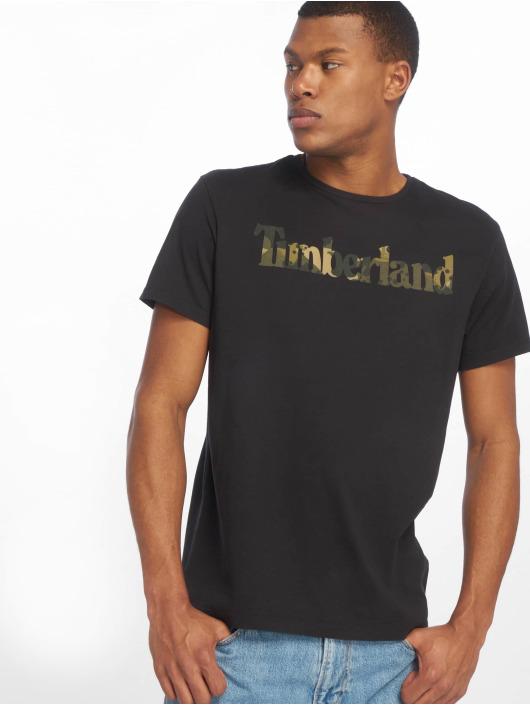 Timberland T-skjorter Kennebec River Season svart