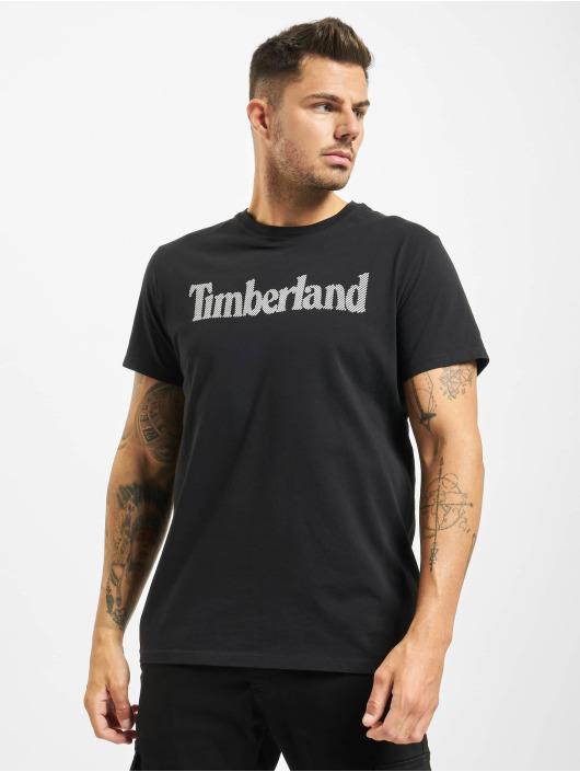 Timberland T-skjorter Ss Elevated Linear svart