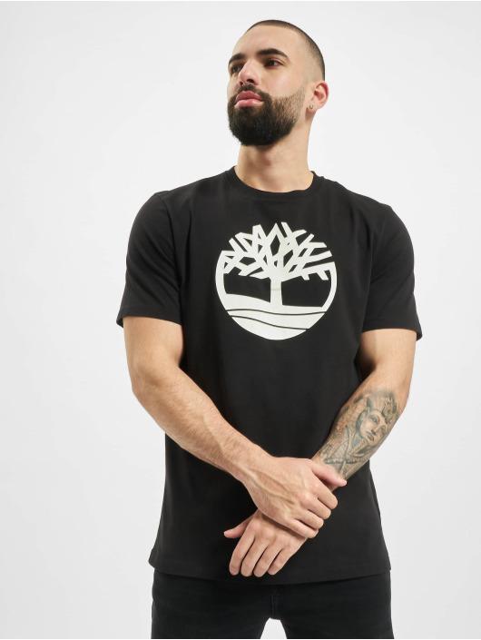 Timberland Tričká K-R Brand Tree L4L èierna