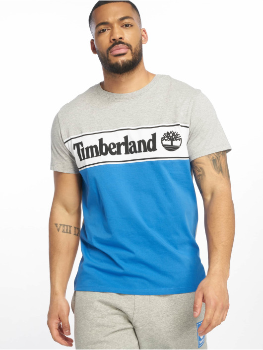 Timberland Tričká YCC Cut & Sew šedá