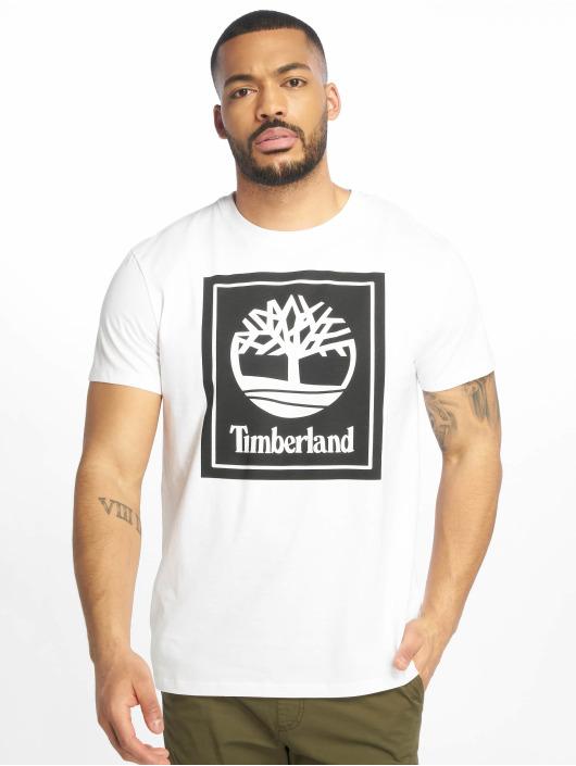 Timberland Tričká YCC Stack Logo ECL biela