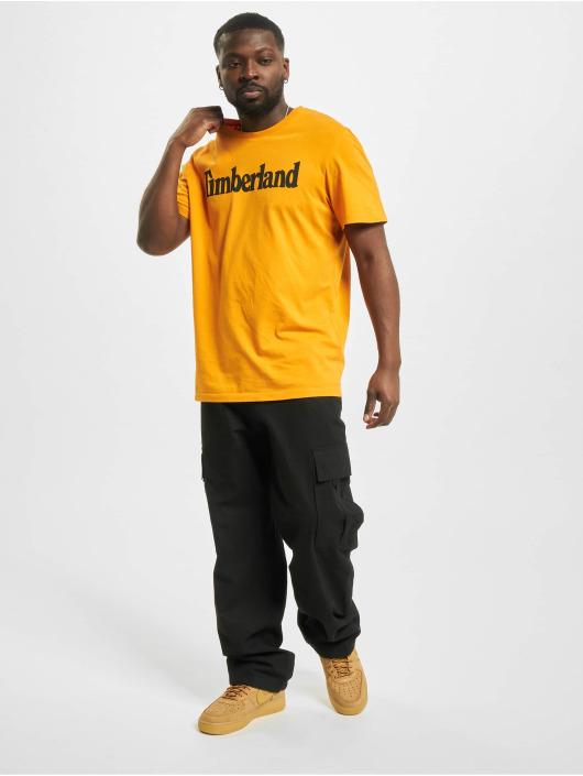 Timberland Tričká K-R Brand Linear oranžová