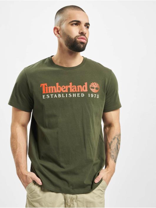 Timberland Tričká Core Established zelená