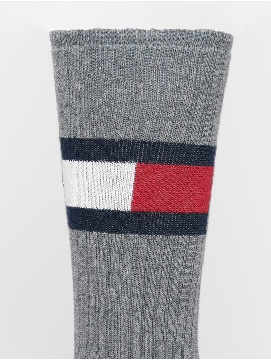 Tommy Hilfiger Dobotex Calcetines Flag 1-Pack gris