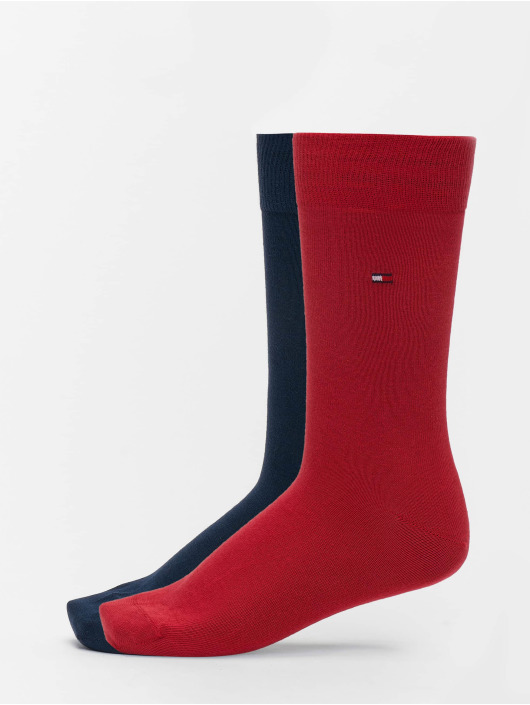 Tommy Hilfiger Dobotex Calzino 2 Pack Classic rosso