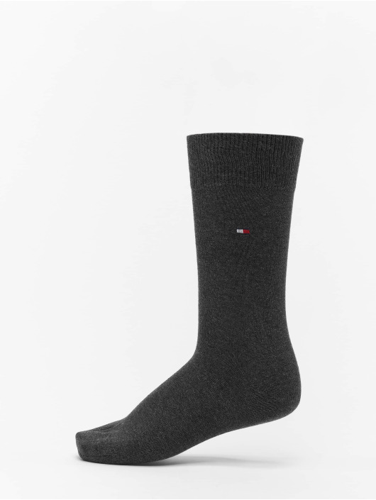 Tommy Hilfiger Dobotex Chaussettes 2 Pack Classic gris