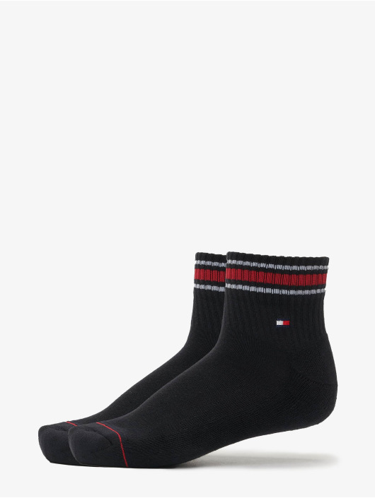 Tommy Hilfiger Dobotex Chaussettes Iconic Sports 2-Pack noir