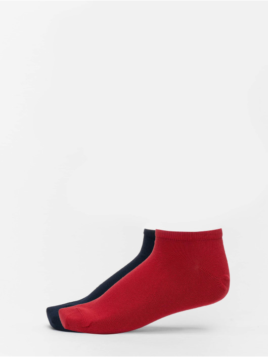 Tommy Hilfiger Dobotex Chaussettes 2 Pack Sneaker Socks rouge