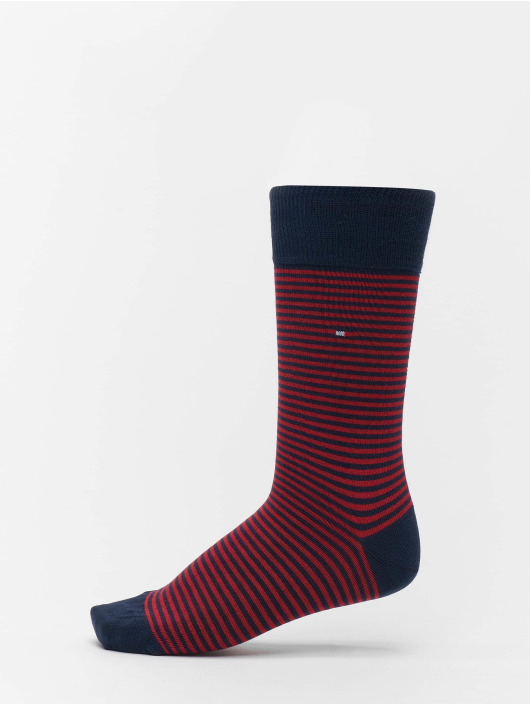 Tommy Hilfiger Dobotex Chaussettes 2 Pack Small Stripe rouge