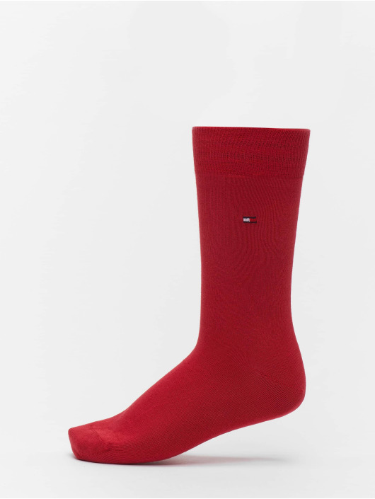Tommy Hilfiger Dobotex Chaussettes 2 Pack Classic rouge