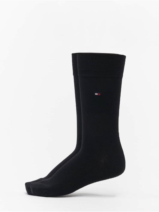 Tommy Hilfiger Dobotex Ponožky 2 Pack èierna
