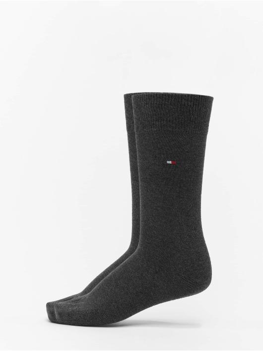 Tommy Hilfiger Dobotex Ponožky 2 Pack Classic šedá