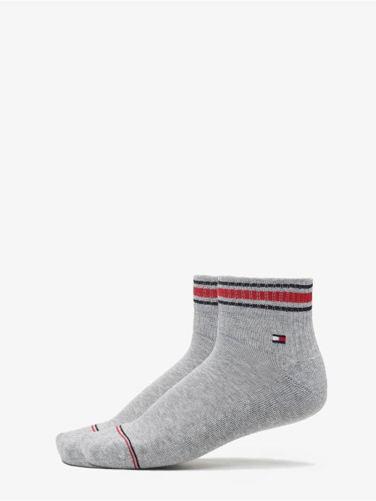 Tommy Hilfiger Dobotex Ponožky Iconic Sports 2P šedá