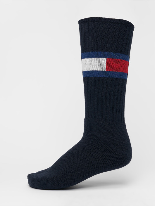 Tommy Hilfiger Dobotex Ponožky Flag 1-Pack modrá