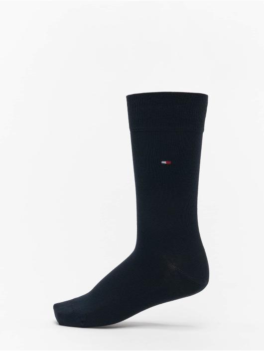 Tommy Hilfiger Dobotex Ponožky 2 Pack Small Stripe modrá