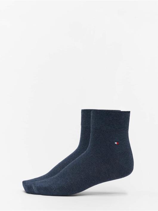 Tommy Hilfiger Dobotex Ponožky 2P Quarter modrá