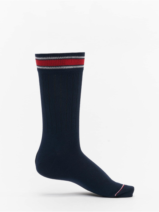 Tommy Hilfiger Dobotex Socken 2 Pack Patch rot