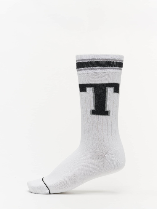 Tommy Hilfiger Dobotex Socks Patch 2P white