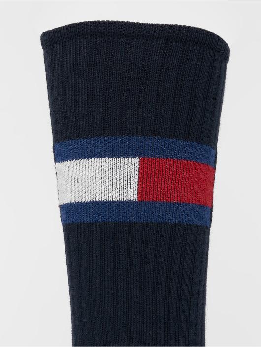 Tommy Hilfiger Dobotex Sokken Flag 1-Pack blauw