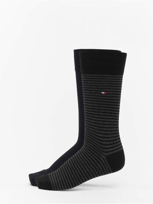 Tommy Hilfiger Dobotex Sokker 2 Pack Small Stripe svart