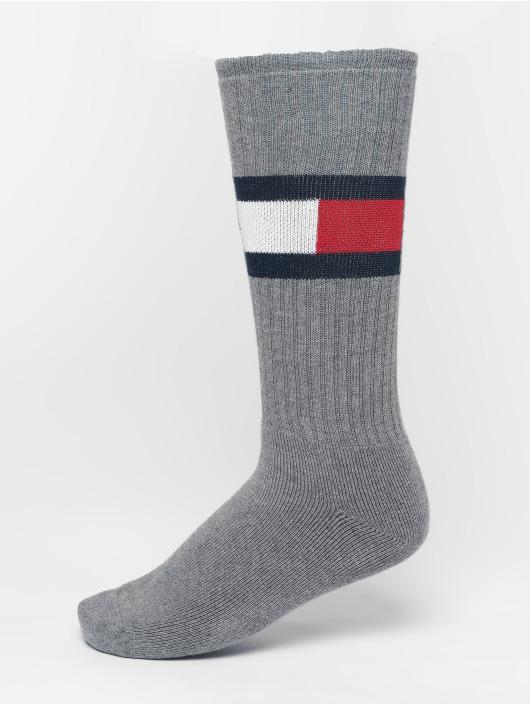 Tommy Hilfiger Dobotex Strømper Flag 1-Pack grå