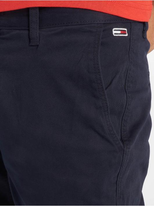 Tommy Jeans Šortky Essential Chino modrá