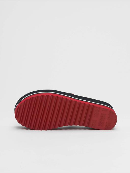Tommy Jeans Badesko/sandaler Jeans Pop Webbing Mid Beach blå