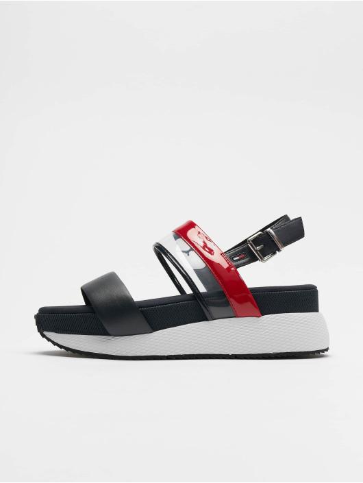 Tommy Jeans Badesko/sandaler Transparent Hybrid hvit