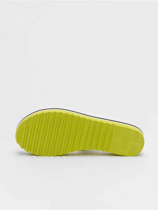 Tommy Jeans Badesko/sandaler Pop Webbing Mid Beach hvit