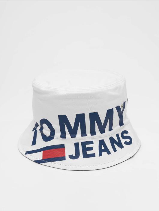 Tommy Jeans hoed Logo wit