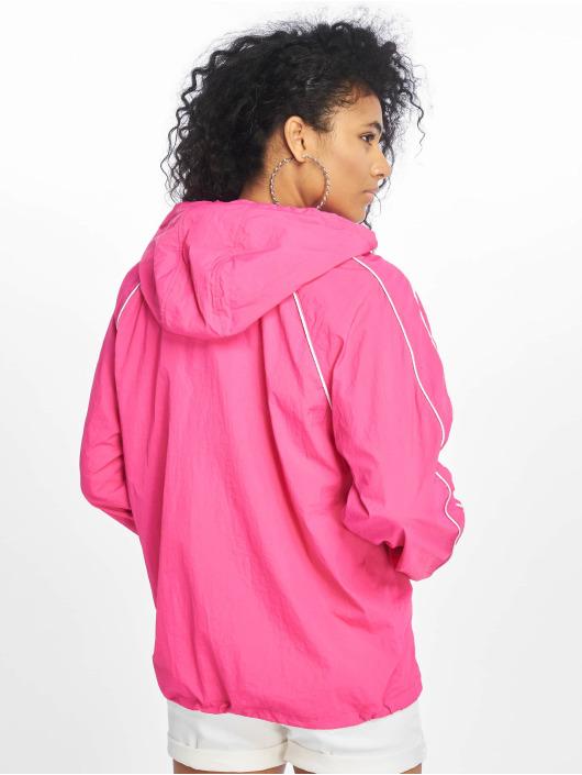 Tommy Jeans Övergångsjackor Contrast Piping Popover rosa