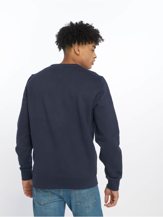 Tommy Jeans Pullover Essential Logo blau