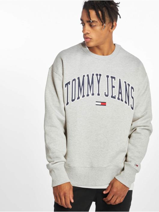 Tommy Jeans Pullover Clean Collegiate grau