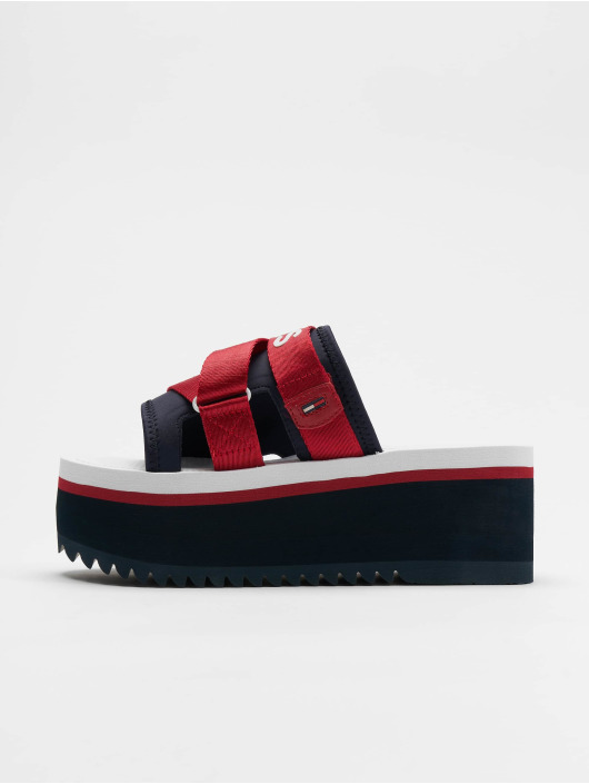 Tommy Jeans Sandaler Sporty Neoprene blå