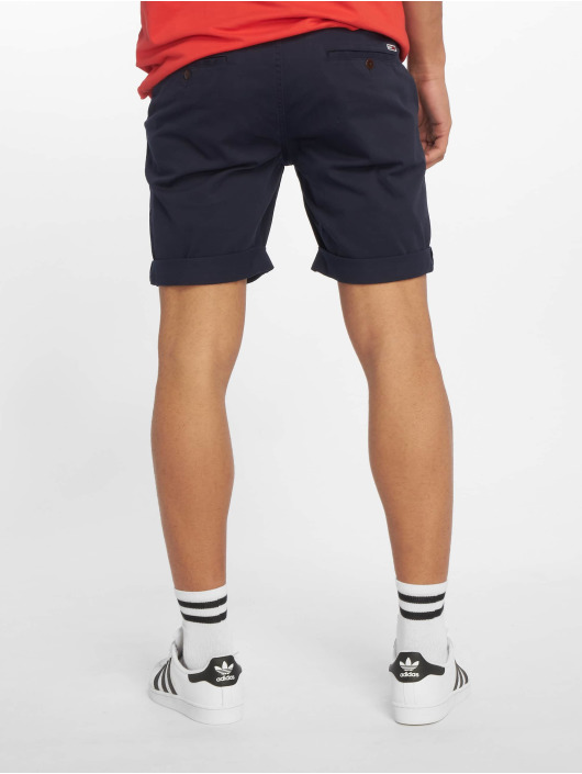 Tommy Jeans Short Essential Chino blue