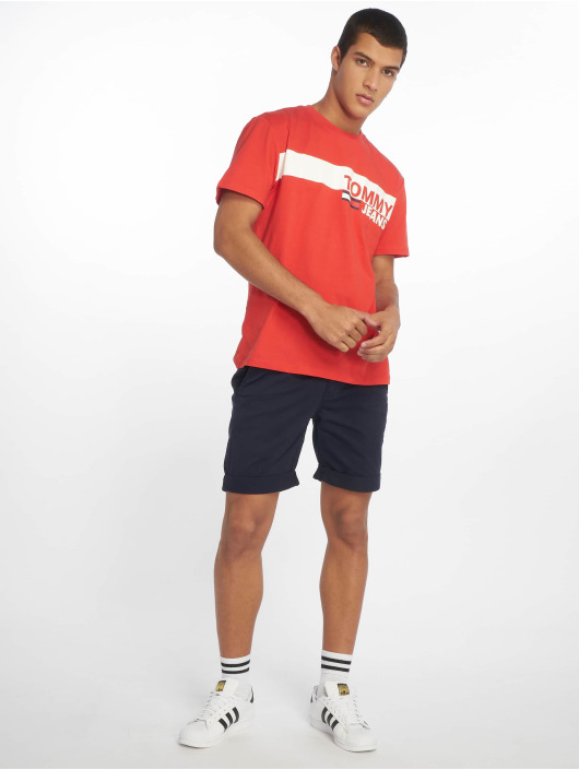 Tommy Jeans Shorts Essential Chino blau